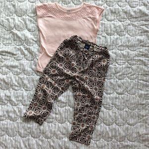 Like-New | GAP Pull-on rayon PANTS | 3T